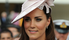 Duchess Kate repeated the same pink dress for a garden party: just fine or tacky?