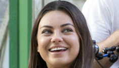 Mila Kunis shows off slight weight gain on NYC film set: she looks good, right?