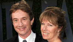 Kathie Lee Gifford asks Martin Short how his deceased wife is doing, he rolls with it