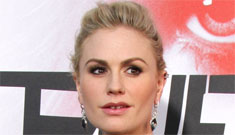 Pregnant Anna Paquin at the True Blood premiere: cute or sloppy?