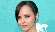 Christina Ricci in watch-covered Christian Siriano: cute or tacky?