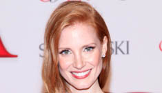 Jessica Chastain in Prabal Gurung at the CFDAs: too precious or lovely?