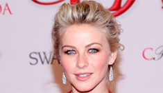 Julianne Hough wears red Kaufmanfranco to the CFDAs: sexy & pretty?