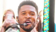 Usher: 'If I could turn being this good-looking down, I don't know that I would'