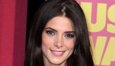 Ashley Greene in feathered, pink Donna Karan at the CMTs: busted or beautiful?
