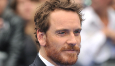 Michael Fassbender strokes his ginger beard repeatedly on 'The Daily Show': hot?
