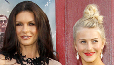 Catherine Zeta-Jones v. Julianne Hough: who worked it at the 'RoA' premiere?