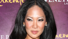 Was Djimon Hounsou cheating on Botox-monster Kimora Lee Simmons?