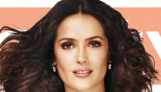 "Salma Hayek covers InStyle Mag, claims her husband is ""very romantic"""