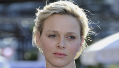 """Princess Charlene's """"Escape Face"""" is getting more depressing, right?"""