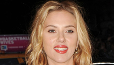 Scarlett Johansson's man, Nate Naylor, did nothing while a guy harrassed her