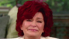 Sharon Osbourne cries about Jack's MS; he says 'my folks handled it worse than I did'