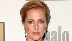 Gillian Anderson in a sexy LBD at the Critics Choice TV Awards: perfect?