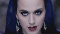 "Katy Perry finally goes ""full goth"" in her 'Wide Awake' video: ridiculous?"