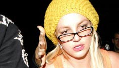 Britney Spears in a half-assed attempt to mend her image