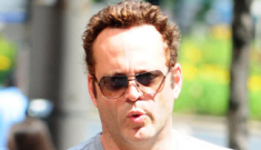 Vince Vaughn shows off his one-and-a-half year old daughter Locklyn: so cute!