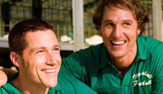 """Matthew McConaughey and Matthew Fox in """"We Are Marshall"""""""