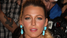 """Blake Lively's dog had an """"accident"""" at a photo shoot: bad dog or bad owner?"""