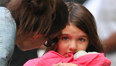 Is Tom Cruise's physical distance from Katie Holmes and Suri taking its toll?