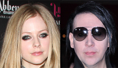 """Marilyn Manson & Avril Lavigne have a """"love connection"""": cute or gross?"""