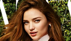 Miranda Kerr covers Bazaar UK, talks about giving birth without an epidural