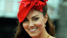 """Duchess Kate """"vows to sleep on streets"""" (if streets are lined with eyeliner)"""
