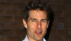 Katie Holmes & Tom Cruise were sleeping apart, she believes CO$ is watching her