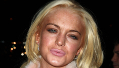 Lindsay Lohan celebrated her 26th birthday at a club, with some booze