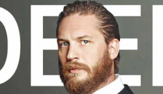 Tom Hardy is furry, gorgeous in Deep Mag: would you hit it?