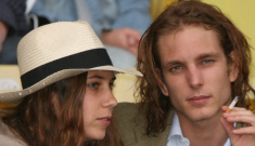 Andrea Casiraghi, Monaco's second in line to the throne, is engaged