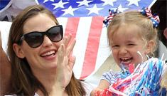 Fourth of July candids with celebrity kids including Garner & Affleck, Pink & more