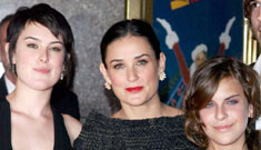 """Demi Moore's daughters won't speak to her, """"they want a mother not a little sister"""""""