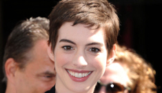 Anne Hathaway at Christopher Nolan's Grauman event: gamine & lovely?