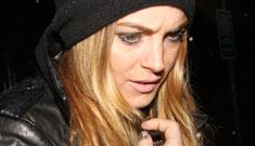 Lindsay Lohan caught drinking vodka on tape