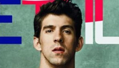 """Michael Phelps covers Details, talks about his post-Beijing """"fat"""" weight gain"""