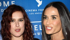 Demi Moore's daughters have cut off all contact, won't return her calls, she's 'devastated'