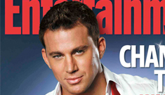 Did Channing Tatum's bitchfight with Alex Pettyfer lead to a photoshoot ban?