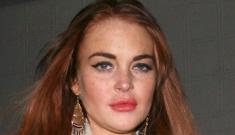 Lindsay Lohan crack-lied about her Porsche's brakes failing, shock