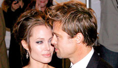 Brad Pitt and Angelina Jolie make first red carpet appearance together