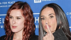 Demi Moore's daughters considering getting a restraining order against her