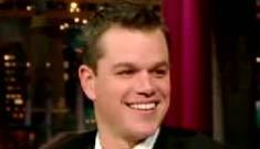 Matt Damon impersonating Matthew McConaughey