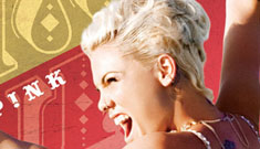 Pink seduces herself in her new video