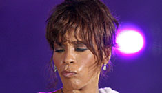 Whitney Houston's stepmother is suing her