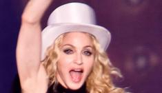 Madonna flirts with Alex Rodriguez during concert performance