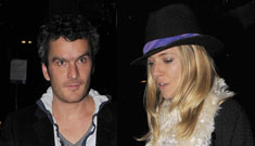 Balthazar Getty spends Thanksgiving with Sienna Miller, not his family