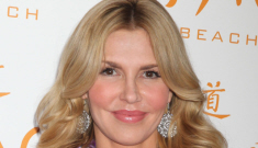 Brandi Glanville wears flimsy fuchsia cover-up in Vegas: hot or busted?