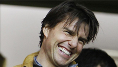 """Tom Cruise had """"tears in his eyes"""" after receiving CO$ slave labor gifts"""