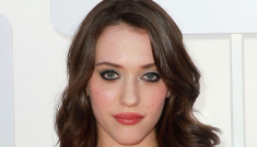 Kat Dennings is way too top-heavy for this unflattering dress, right?