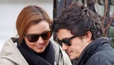 Orlando Bloom and Miranda Kerr aren't engaged, their rep says