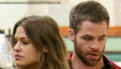 Chris Pine steps out with new girlfriend Dominique Piek: too scruffy or still hot?